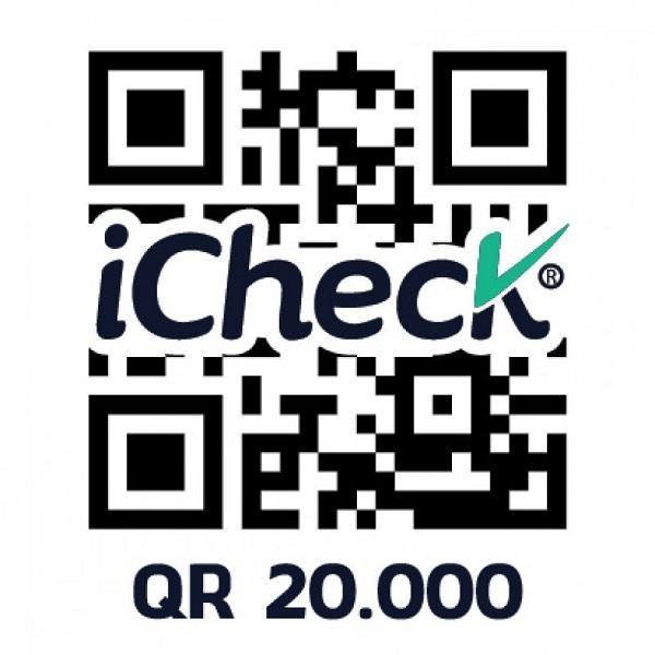 Gói 20000 QR code cho tem chống tràn hàng